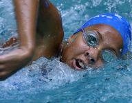 Washington girls post Top 10 finish at state swim meet