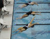 2016 All-Blue Water Area Girls Swim Team
