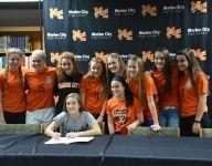 Marine City's Borunda signs with Siena Heights soccer