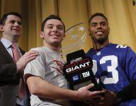 Giants RB Rashad Jennings surprises Mahopac (N.Y.) teen Charlie Burt with Heart of a Giant award