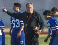 North football coach Bernie Busken was suspended for September incident