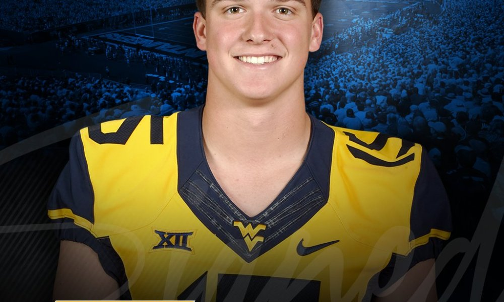 Former youth quarterback prodigy turned West Virginia wide receiver David Sills (Photo: Twitter)