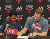 Teen recovering from liver transplant signs one-day contract with Chicago Bulls