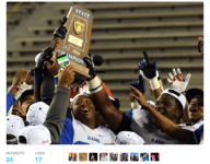 41 years after forced desegretation, a Birmingham school finally captures state football crown