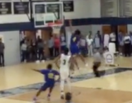 VIDEO: Andrew Wiggins' cousin, Isaiah Wiggins, threw down a nasty poster jam in Pa.