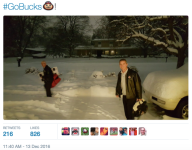 Urban Meyer trekked trough crazy snow to visit Donovan Peoples-Jones