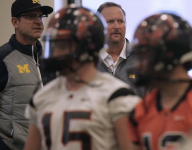 VIDEO: Jim Harbaugh gave a motivational speech to Aledo (Texas) in pre-title game practice
