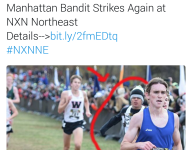 New Jersey cross country runner caught cheating once again