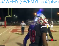 VIDEO: North Carolina WR lays out for one-handed TD grab in playoff win