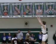 VIDEO: On night to remember student who died of ALS, Ohio senior hits game-winner at buzzer