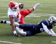Central's Marlon Tuipulotu flips to USC