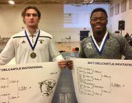 Sals' Miller, Caravel's Medley reach 100 wrestling wins