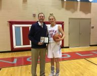 Brecht becomes Lincoln's all-time leading scorer