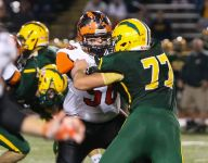 Blue-Grey All-American Bowl all business for Fenton lineman