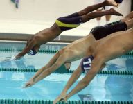 From novice to varsity: Lourdes' swimmers stay afloat