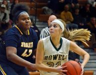 Howell girls hoops lose Paige Johnson, still beat Haslett
