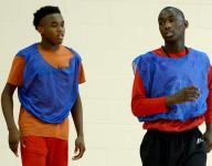 Two brothers return to the court just weeks after being shot