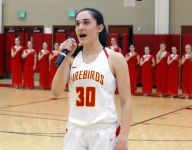 From the anthem to pom line to starting forward, Chaparral's Brenna Doyle does it all