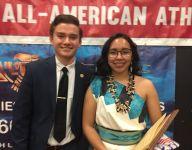 Scholar-athletes Jose Cortes, Sophia Honahni receive scholarships at Fall High School All-American Awards