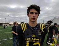Dylan McCaffrey breaking new ground in his famous family at U.S. Army All-American Bowl