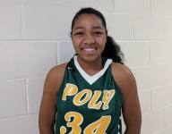 Jasmine Jones fits in at well-traveled Long Beach Poly with well-rounded game at Spalding Hoophall Classic