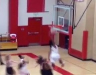 VIDEO: 15-year-old Colorado girls basketball player dunks