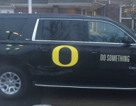 Oregon coaches unveil new recruiting vehicle