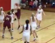 VIDEO: Check out Indiana PG Alia Martin go around the world on layup in the paint