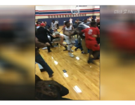 VIDEO: Fight breaks out between players, students at Texas basketball game