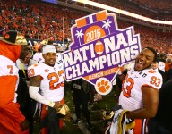 Clemson commits celebrate national championship