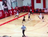VIDEO: 15-year-old Colorado girls basketball player dunks...again!