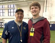 Legacy Michigan commit Aidan Hutchinson plays 'really, really hard'