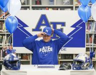McNary's Kolby Barker signs with Air Force