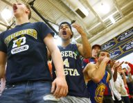 High school basketball student sections pushing the envelope