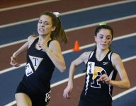 Depth in field events pushes Padua to DIAA Indoor girls title