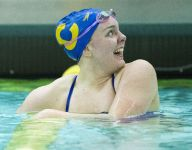 Carmel girls roll through sectional, set stage for 31st straight swim state title