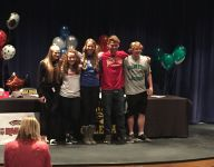 Galena has five athletes sign for college