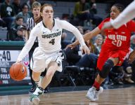 Taryn McCutcheon stands tall for MSU women's basketball