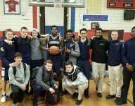 Lourdes' Anozie reaches milestone in boys basketball win