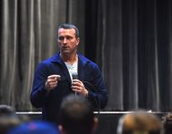 Former NBA player Chris Herren discussed drug abuse with audience of locals