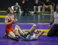 Class 2A wrestling: West brothers help Solon in team race on Day Two