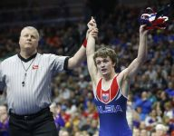 Class 2A wrestling: Woodward-Granger's Fisher turns heads, Solon ekes out first ever team title