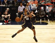 Glenn Robinson soars to dunk title as Indiana dominates All-Star Weekend