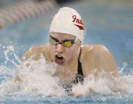 Third victory makes IU's Lilly King top swimmer at Big Ten meet