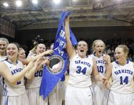 Tears and triumph for Van Meter girls missing one important fan in the stands