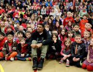 NFL's Tyrell Williams returns to Turner Elementary