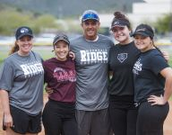 Mountain Ridge softball players become coach's voice while he battles throat cancer