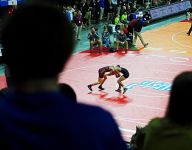 #SDWrestling17: Pierre leads in A; Riders advance six to quarters