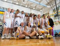 Big first quarter helps Riders to Henlopen girls title