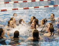 Forde sets 2 records as SHA swimmers win again